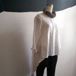 White linen tails shirt $189 limited stock available